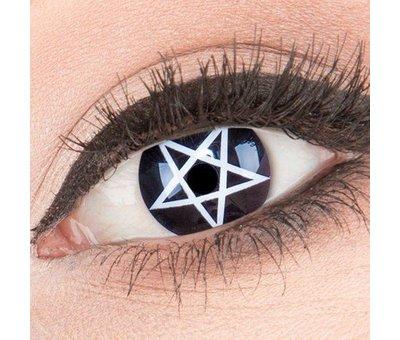 Eyecatcher Colorlenses 'Pentagram' 3 month lenses