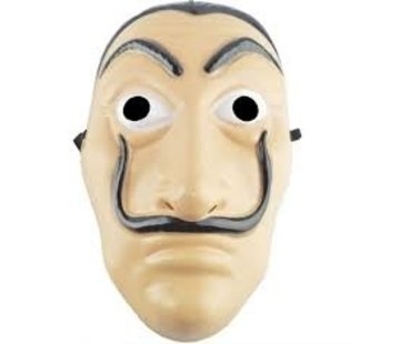 Partyline La Casa de Papel El Salvador Dali Masker