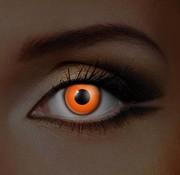 Eyecatcher UV Oranje Kleurlenzen