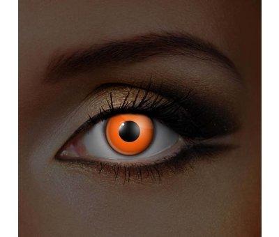 UV lentilles de couleur Orange