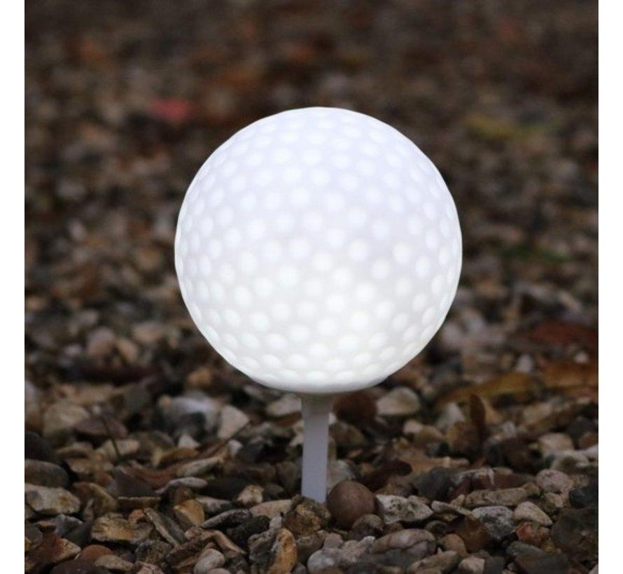 Witte Led Golfbal
