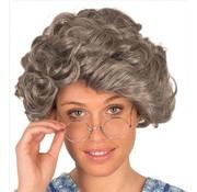 Partyline Perruque vieille femme