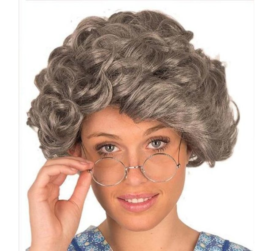 Wig old woman