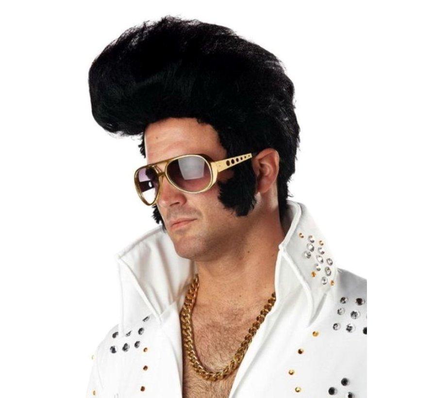 Glasses Elvis Gold
