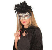 Partyline Venetian mask on stick