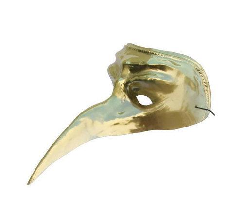 Partyline Venetiaans Masker goud