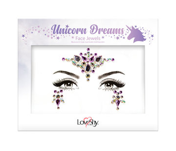 Love Shy Cosmetics Bijoux de visage ' Unicorn dreams ""