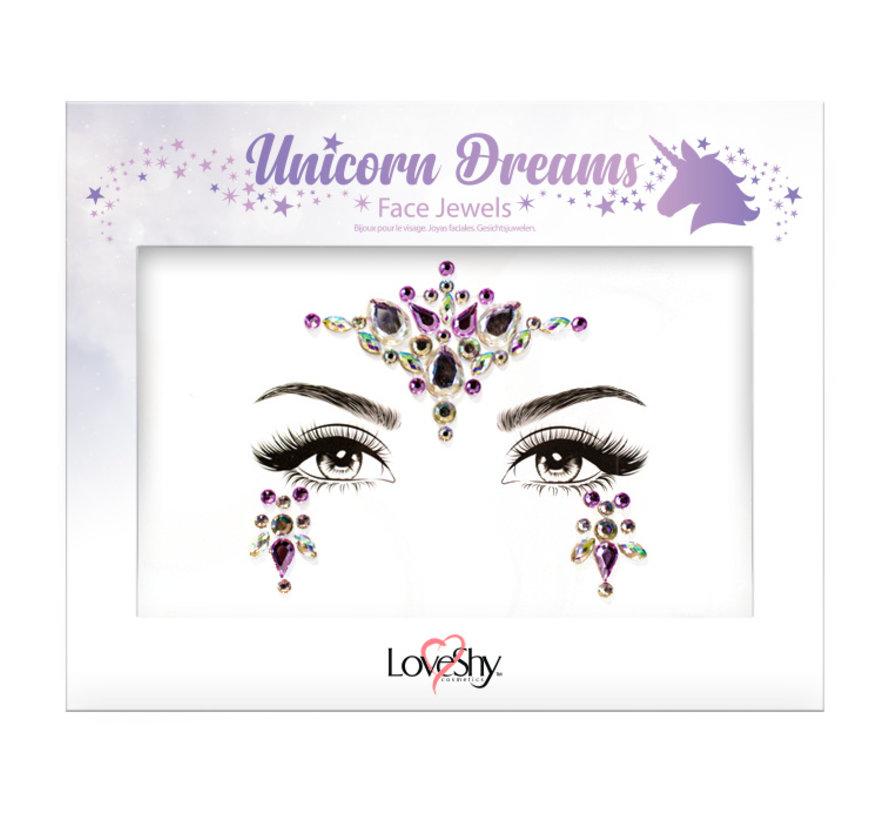 "Gezicht Juwelen "" Unicorn Dreams """
