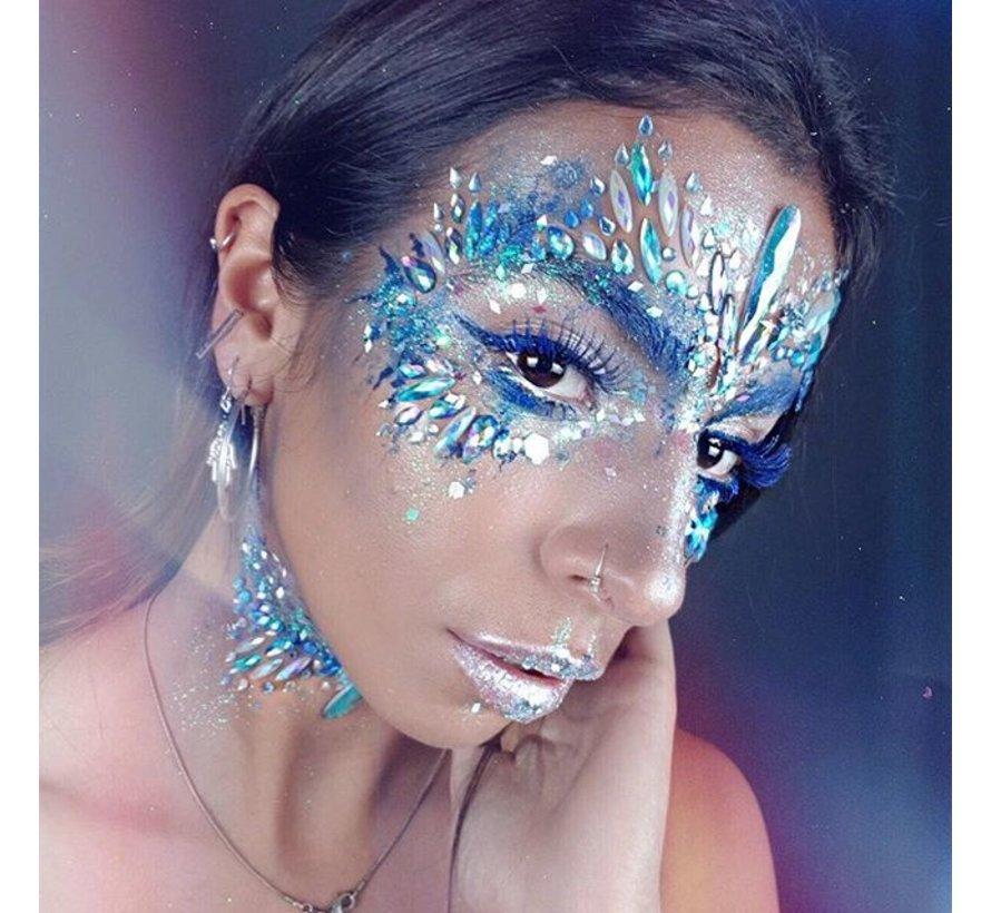 """Gezicht Juwelen """" Snow Fairy """""""