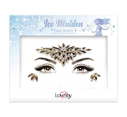 "Love Shy Cosmetics Bijoux de visage ' Ice Maiden """