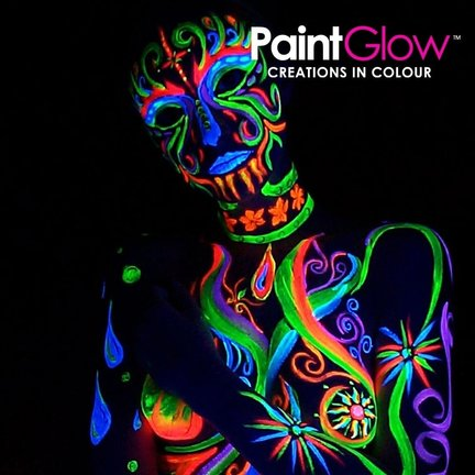 Peinture pour le corps UV