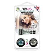 Love Shy Cosmetics PaintGlow Bio Degradable  Chunky glitter set  | Paillettes pour le visage