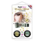 PaintGlow PaintGlow Chunky glitter set