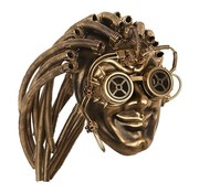 Partyline Steampunk Mask Gold