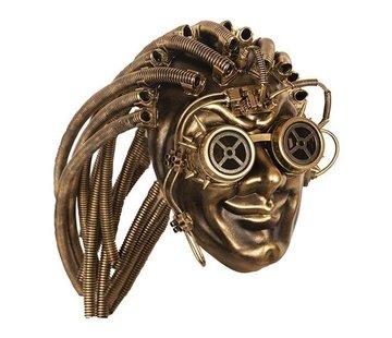 Partyline Steampunk Masker Goud