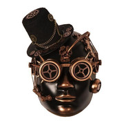 Partyline Steampunk Mask Bronze