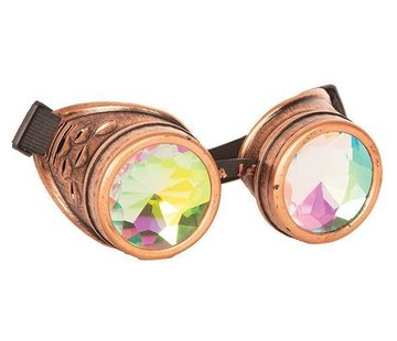 Partyline Steampunk Glasses Kaleidoscoop