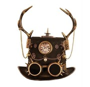 Steampunk hat with antlers