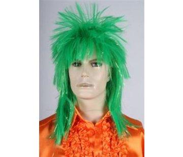 Disco Pruik Groen