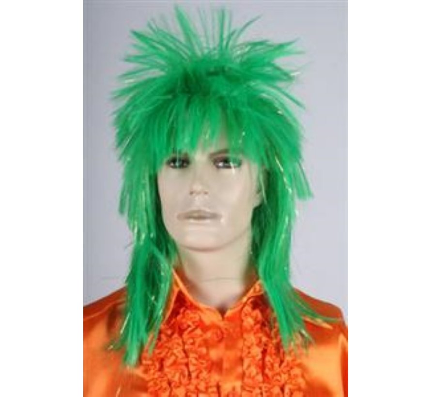 Disco Perruque Vert