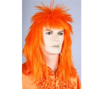 Disco Perruque Orange