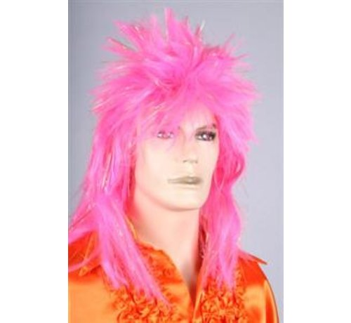 Disco Perruque Roze