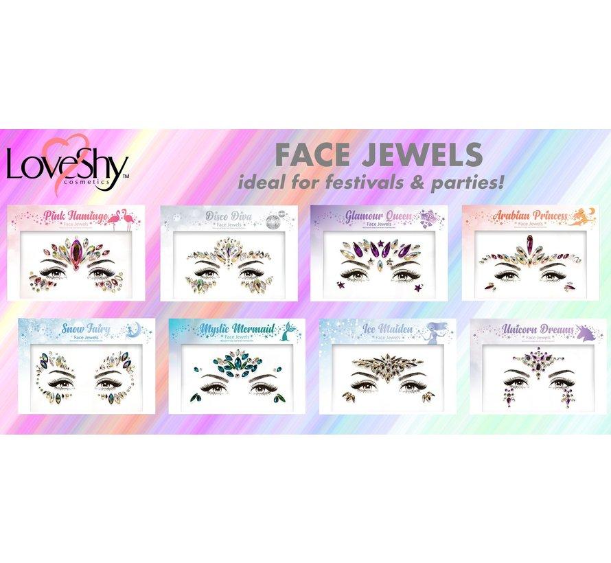"Face Jewels "" Disco Diva """