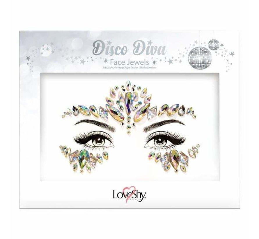 "Gezicht Juwelen "" Disco Diva """