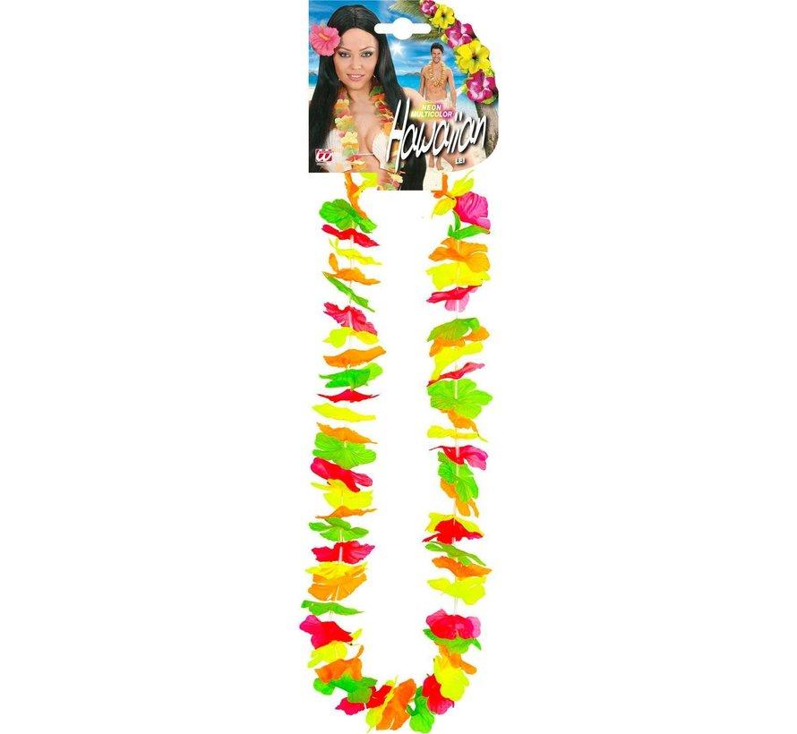 Collier Hawai Neon- 12 pcs