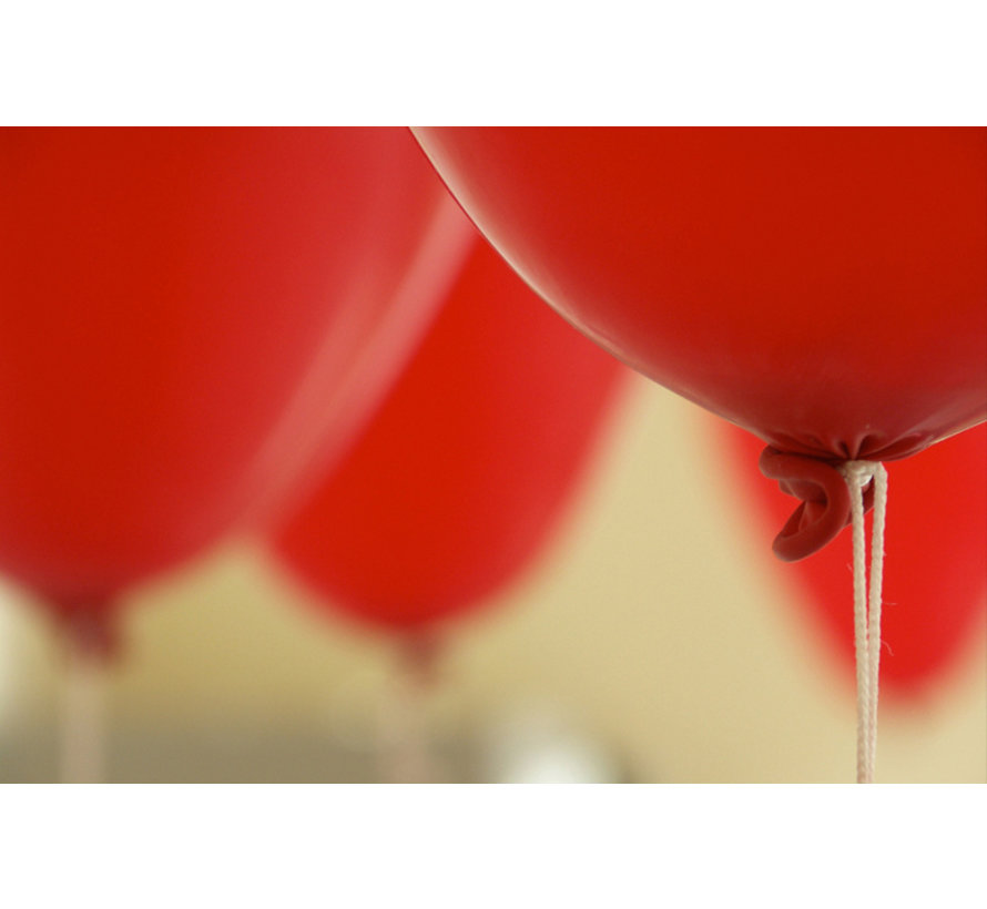 Red Balloons - 12 pieces
