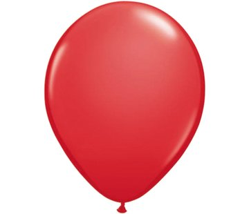 Partyline Red Balloons - 12 pieces