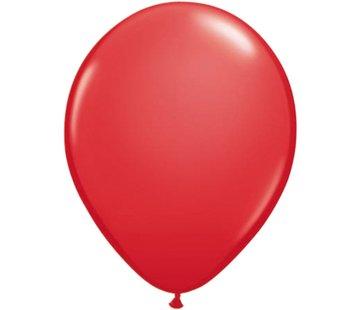 Partyline Rode Ballonnen - 12 stuks