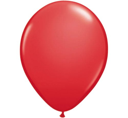 Partyline Rode Ballonnen - 12 stuks  (12 Inch)