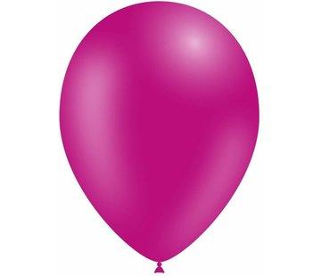 Partyline Fushia Ballonnen - 12 stuks