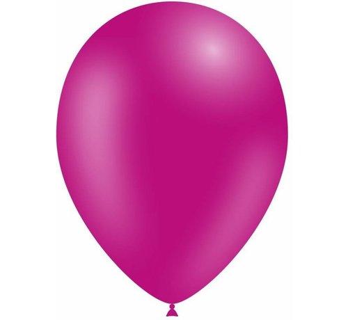 Partyline Fushia Balloons - 12 pieces