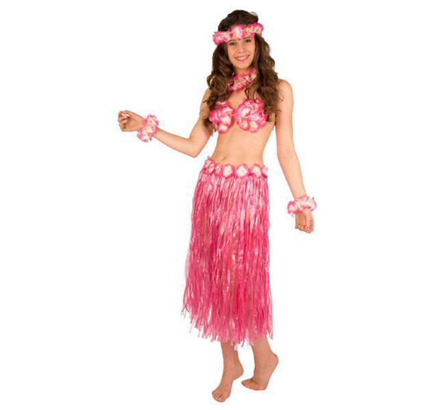 Hawaii set Roze ( 5- delig )