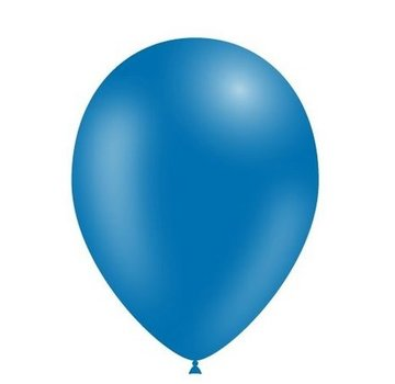 Partyline Ballons Bleu  - 12 pieces