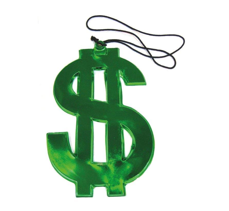 Collier signe dollar