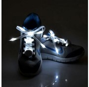 Breaklight.be White LED Shoe Laces