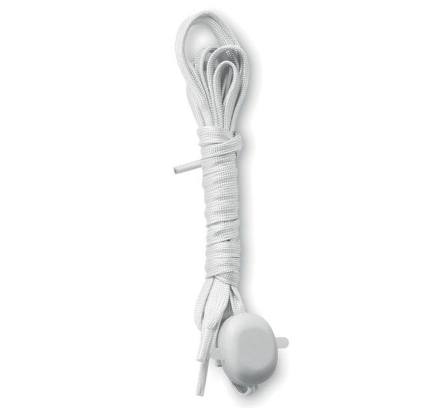 Witte LED Schoenveters  - 120 cm