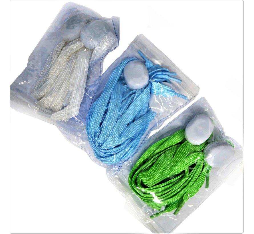 LED Lacets de chaussures Blue- 120 cm