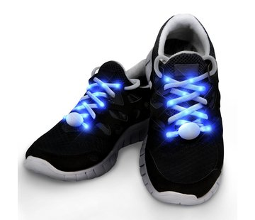 Breaklight.be LED Lacets de chaussures Blue