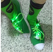 Breaklight.be Green LED Shoe Laces