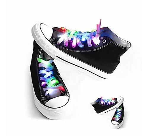 Breaklight.be LED Lacets de chaussures Multicouleur -120 cm
