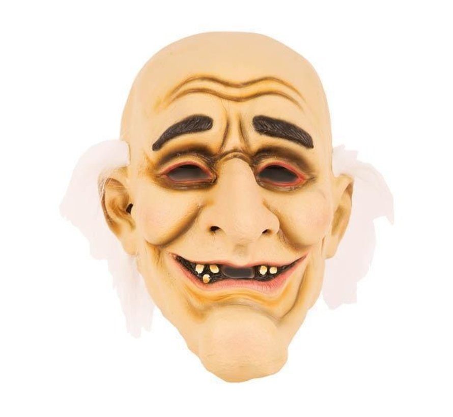 Masker Oude Man - Zwerver