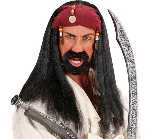 Partyline Perruque Jack Sparrow