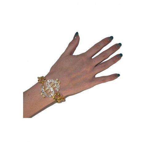 Funny Fashion Armband Dollarteken