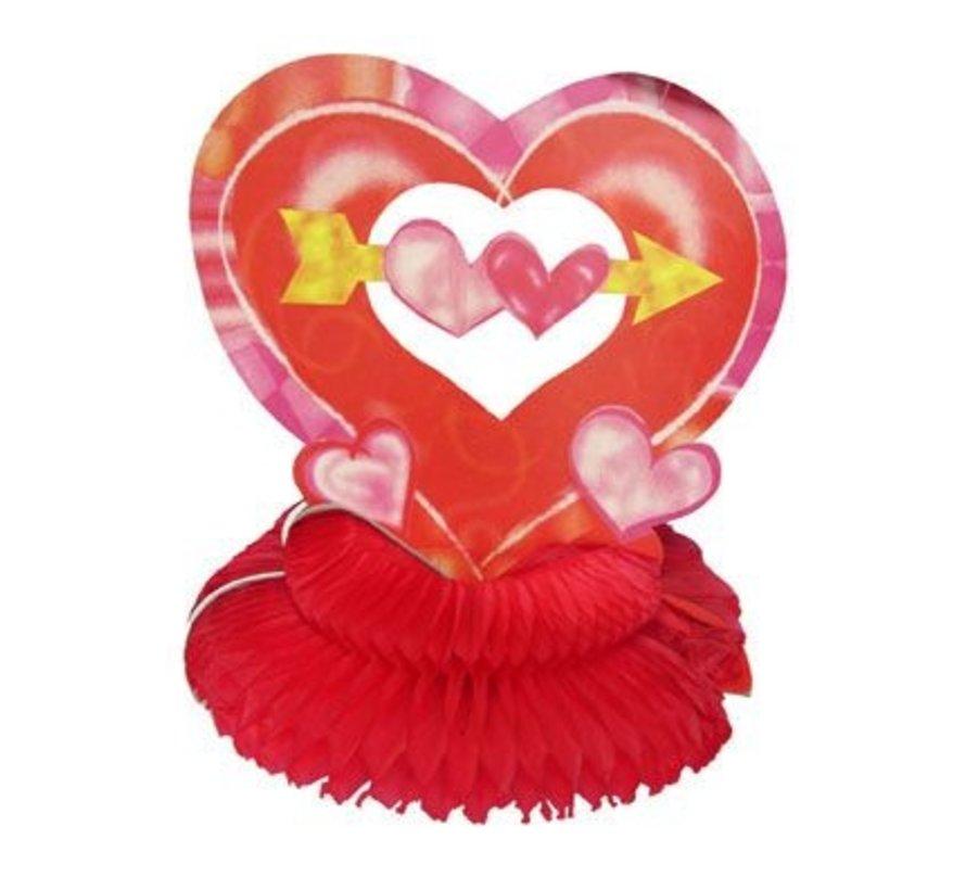 Coeur de décoration de table