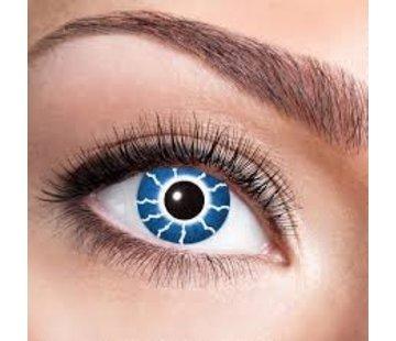 Eyecatcher Blue Thunder | 3-Month lenses