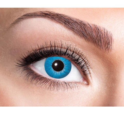 Eyecatcher Electro Blue | Weekly lenses | Contact lenses